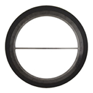 Spiral wound gasket with outer ring, inner ring & pass partition bars