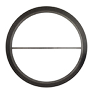 Spiral wound gasket with inner ring & pass partition bars
